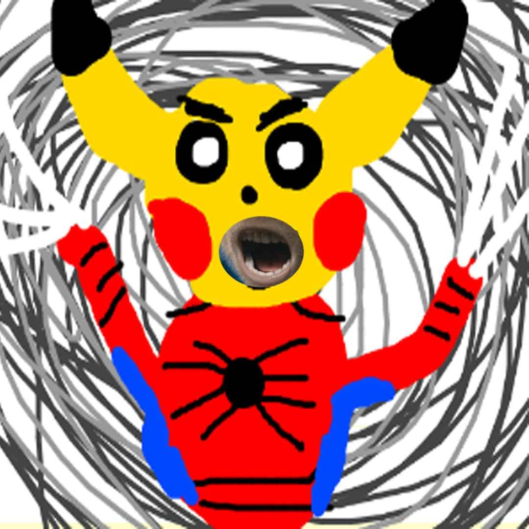 okie dokie does this count? I butchered a pika peter parker and even gave him s...