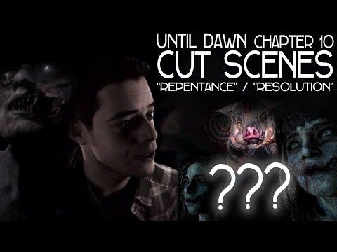 Until Dawn #10: Resolution INSANITY Cut-scene (GORE/HORROR) 1