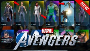 How Much Does it cost for all avengers marketplace items? 3 Avengers Game, Marvel Avengers