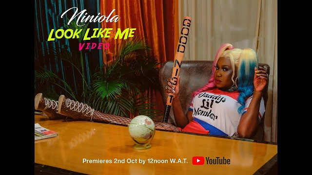 Niniola Look Like Me Video