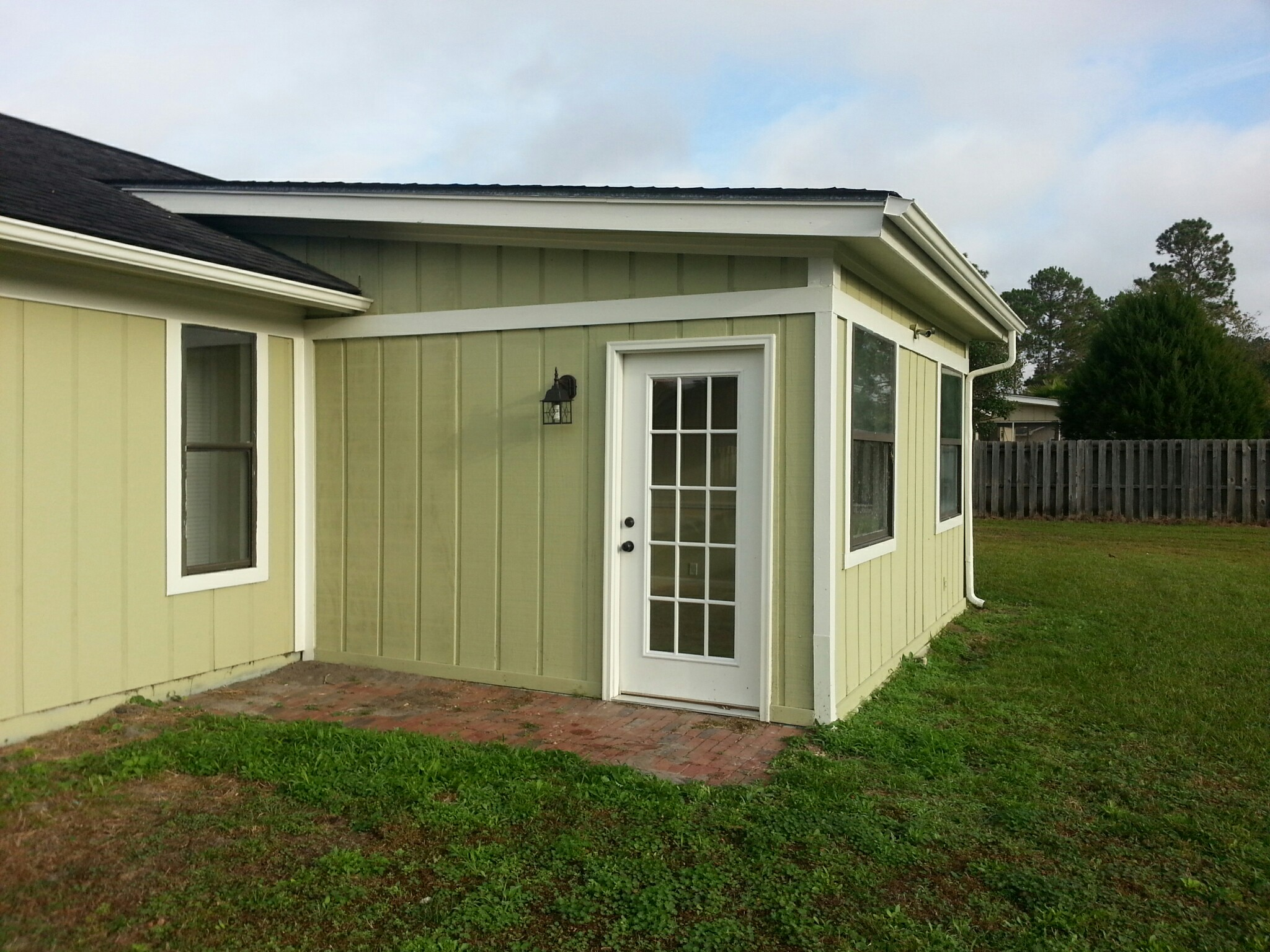 Enclosed Porch That Shouldn T Be 360 Home Inspections Llc