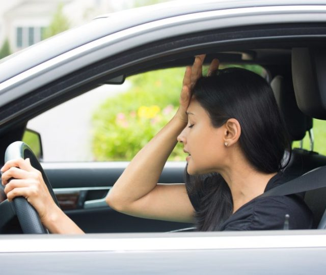 dealing with road rage