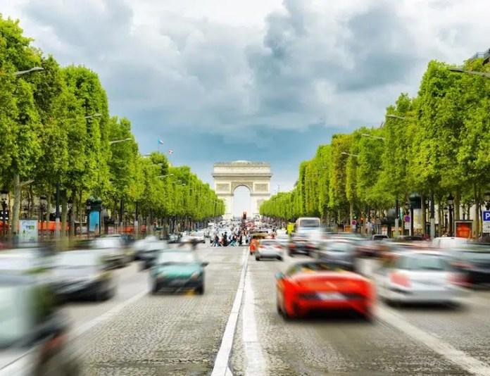 aluguel de carro na europa paris