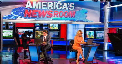 America's Newsroom (Fox News) aired a segment on our infamous shark video!