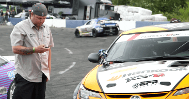 Producer Chabin Mullen is bringing a 360 degree perspective to the Formula Drift tour.