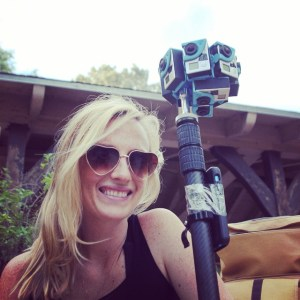 Christina Heller is bringing her documentary film background to 360 video.