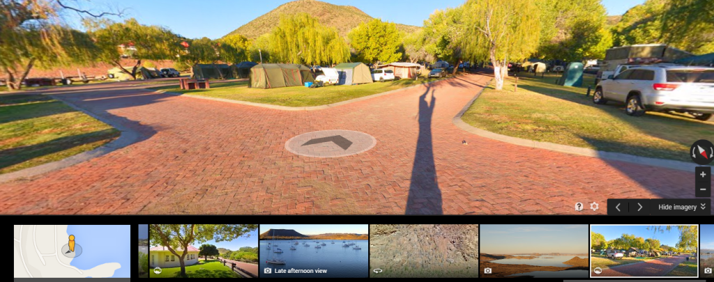 360Heros gear captures Google Street View Panoramas. Image: Chris du Plessis.