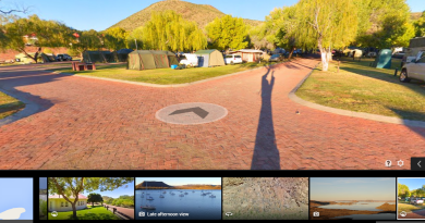 360Heros gear captures Google Street View Panoramas. Image: Chris du Plessis.