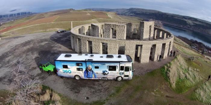 360 video tour stonehenge