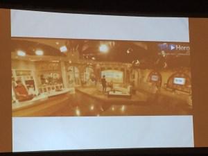 Hacker teams utilized exclusive 360 video content from 360Heros showcasing Telemundo's studio.