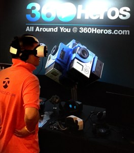Comcast NBCUniversal Hackathon VR 360 video