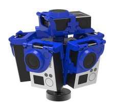 360RIZE Pro6L v2 360° Plug-n-Play Rig Side
