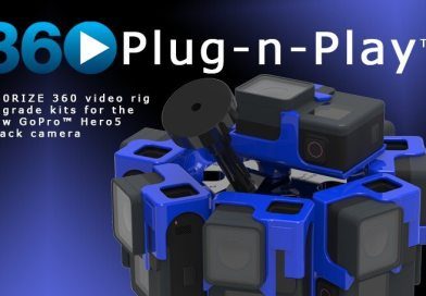 360 Video Rig Upgrade Kits for GoPro™ Hero5 Black Available, Free for v2 Customers Until January 2nd