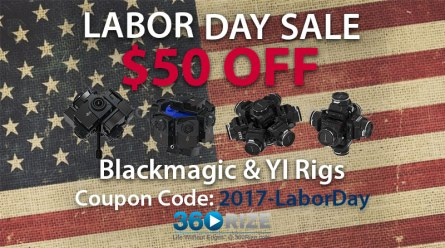 360Rize Labor Day Sale