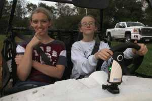 360Rize Monica and Renee night ATV with 360Penguin