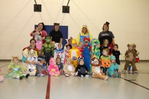 360Rize 360Penguin Daycare Halloween close group A