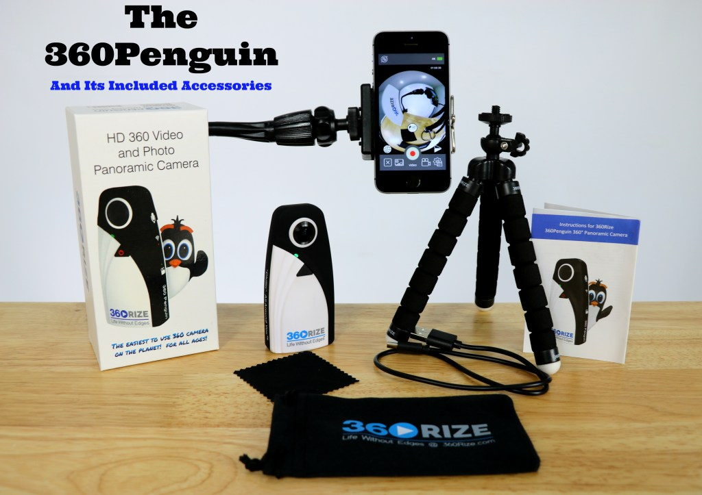 360Rize 360Penguin and accessories