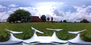 360Rize 360Penguin on a drone