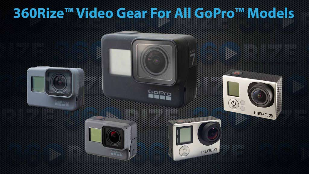 360Rize Video Gear for all GoPro Models