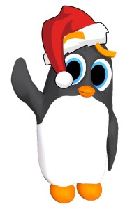 360Rize 360Penguin Chillin Santa Hat
