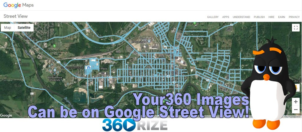360Rize 360Penguin Google Street View Featured