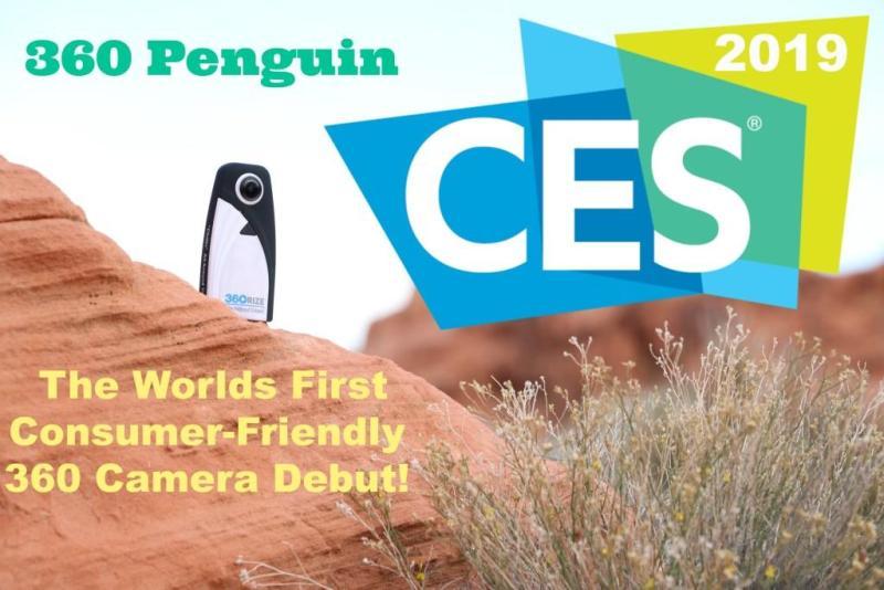 360Rize 360Penguin at CES 2019