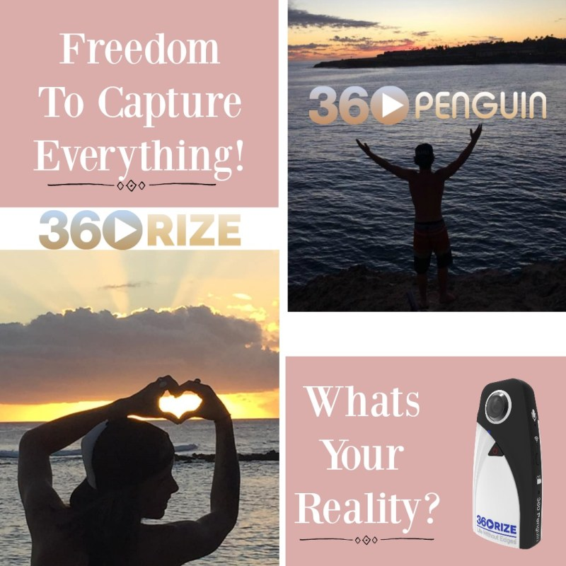 360Rize 360Penguin sunset