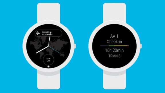 App in the Air app for smartwatch