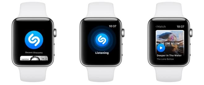 shazam app for smartwatch