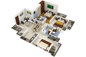 Real Estate 3D Walk Through in Greater Noida