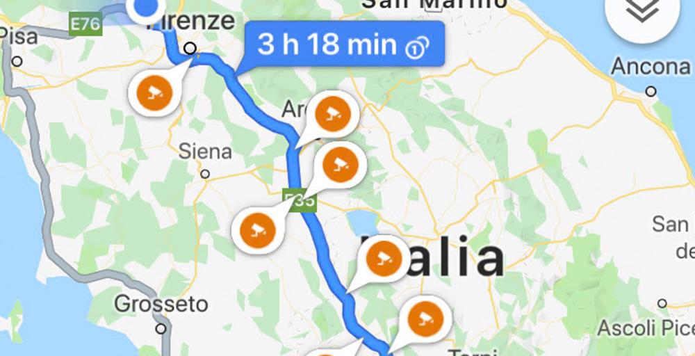 autovelox-google-maps-italia
