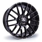 TG2 Black Pol - 360 Wheels
