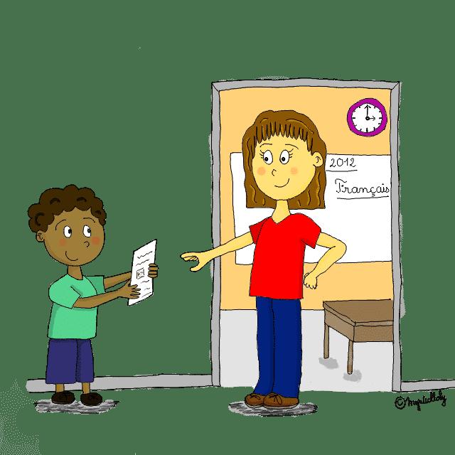 votre enfant ne vous raconte rien de l'école : mon astuce