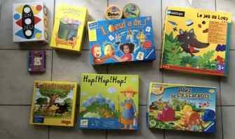 sélection jeux maternelle, jeux de société pour 3 à 5 ans