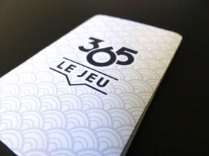 365 carte verso