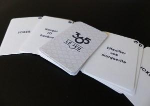 365 cartes à jouer prototypes 365 cartes à jouer