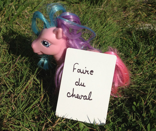 photo challenge 365 : faire du cheval