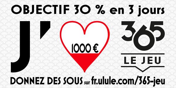 bandeau objectif 1000 € 365 le jeu