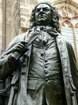 Bach-Denkmal vor der Thomaskirche in Leipzig. ©Foto: skr