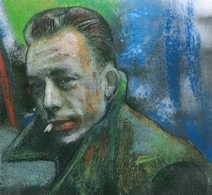 Camus-Porträt von Maurycy.