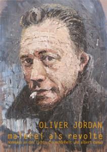 Ankündigungsplakat der Ausstellung von Oliver Jordan.