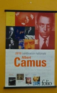 Camus-Plakat