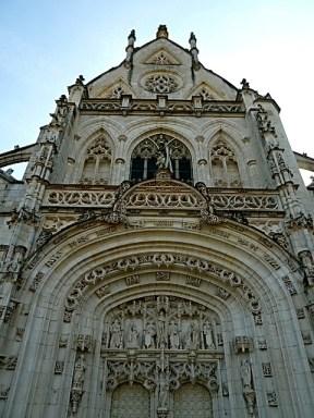 Portal der Abteikirche des Klosters Brou in Bourg-en-Bresse. ©Foto: Anne-Kathrin Reif
