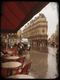 Paris im Regen