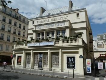 Das Théâtre Hébertot am Boulevard des Batignolles. ©Foto: Anne-Kathrin Reif