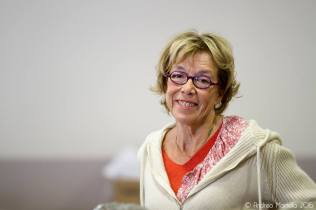 Catherine Camus: War bei allen Vorträgen dabei. ©Foto: Andrea Martella