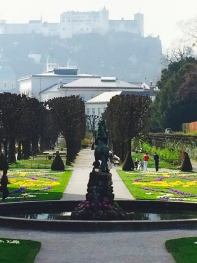 Salzburg, Mirabell-Garten. ©akr