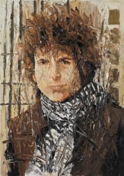 Bob Dylan-Porträt von Oliver Jordan. ©Oliver Jordan