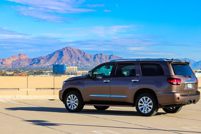 2019 Toyota Sequoia Platinum in Phoenix, AZ.