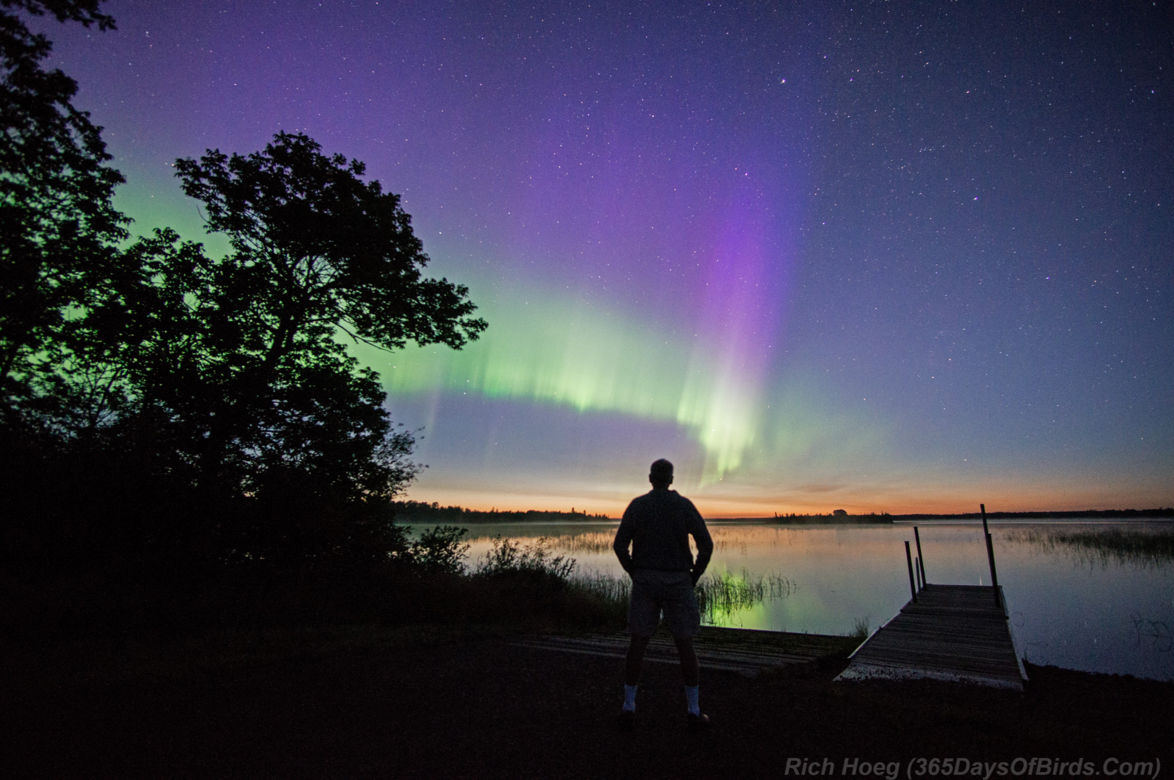 Northern Lights Best Time View